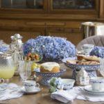 сервировка стола для чаепития