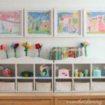 Как интегрировать детские рисунки в стильный интерьер