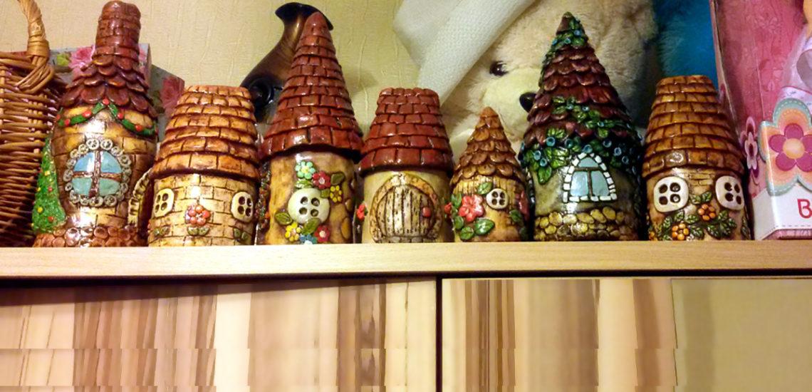 маленькие домики своими руками