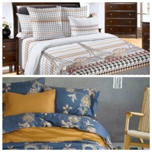 романтическое настроение с помощью постельного белье