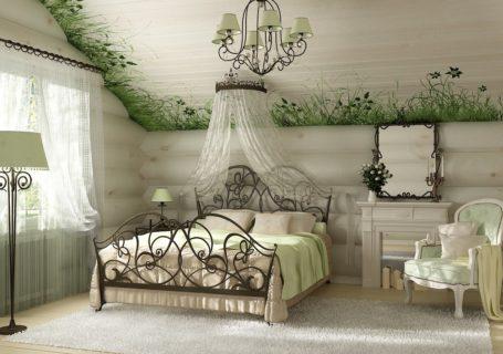 спальня в стиле арт-нуво
