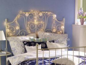 изголовье кровати декор