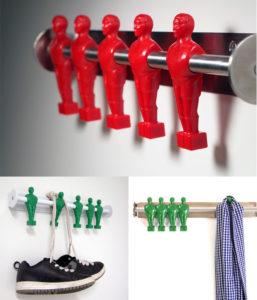 крючки для одежды декор