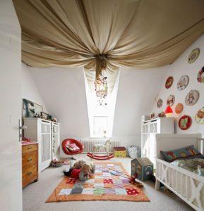 потолок декор