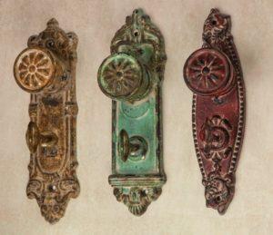 ручки дверные декор