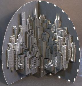 архитектурное оригами