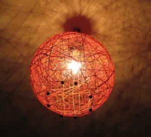 светильник декор