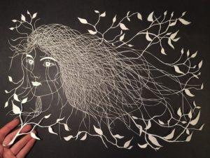 художественное вырезание из бумаги