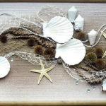 86 идей декора из ракушек, привезенных с моря