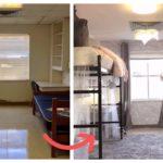 Две студентки сделали невероятный ремонт в комнате общежития за 10 дней!