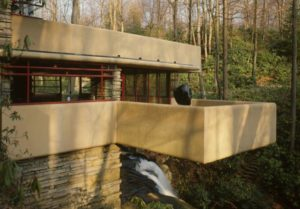 дом на водопаде