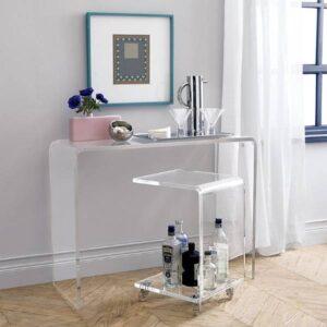 мебель из плексигласа