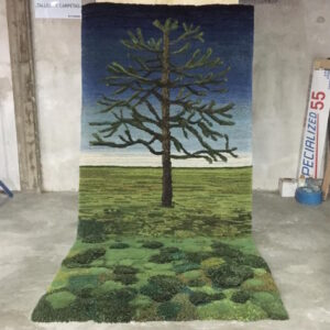ковровый пейзаж