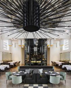 необычный дизайн ресторанов
