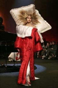 платье из одеяла