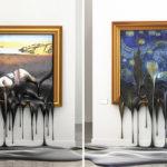 Дизайнер расплавил картину Ван Гога