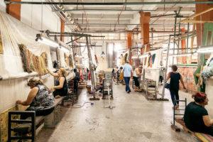 армянские ковры в интерьере, производство ковров