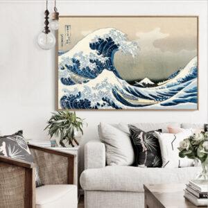 большая волна в каганаве картина