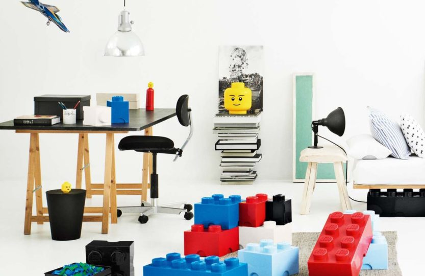 LEGO интерьер