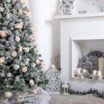 6 идей для новогодней гостиной в белых тонах