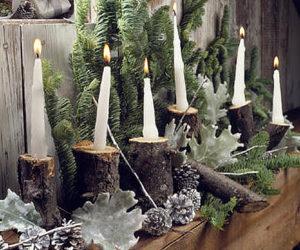 Новый год в стиле зимнего леса
