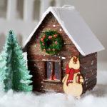Рождественские домики, деревни, улицы на елку и под нее