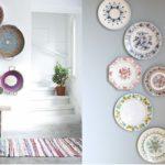 Тарелки на стене — вспоминаем классические декоративные традиции