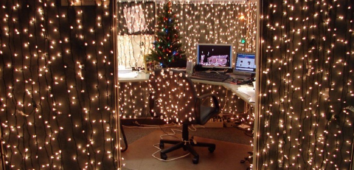 новый год в офисе