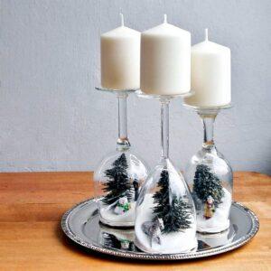 готический новогодний декор