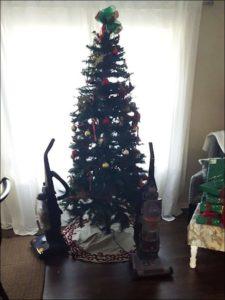 елки и домашние животные