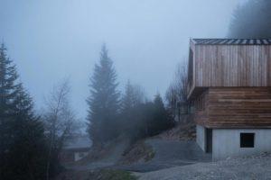 Домик в альпах