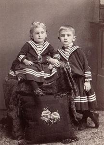 Детская одежда 19 века