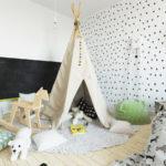 Вигвамы в комнате — мечта детства