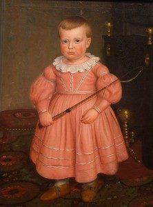 мальчик в розовом