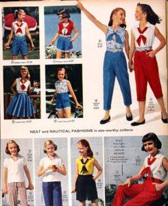 одежда 1950х