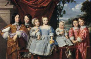 Филипп де Шампейн, Хабер, дети Монмонта 1649