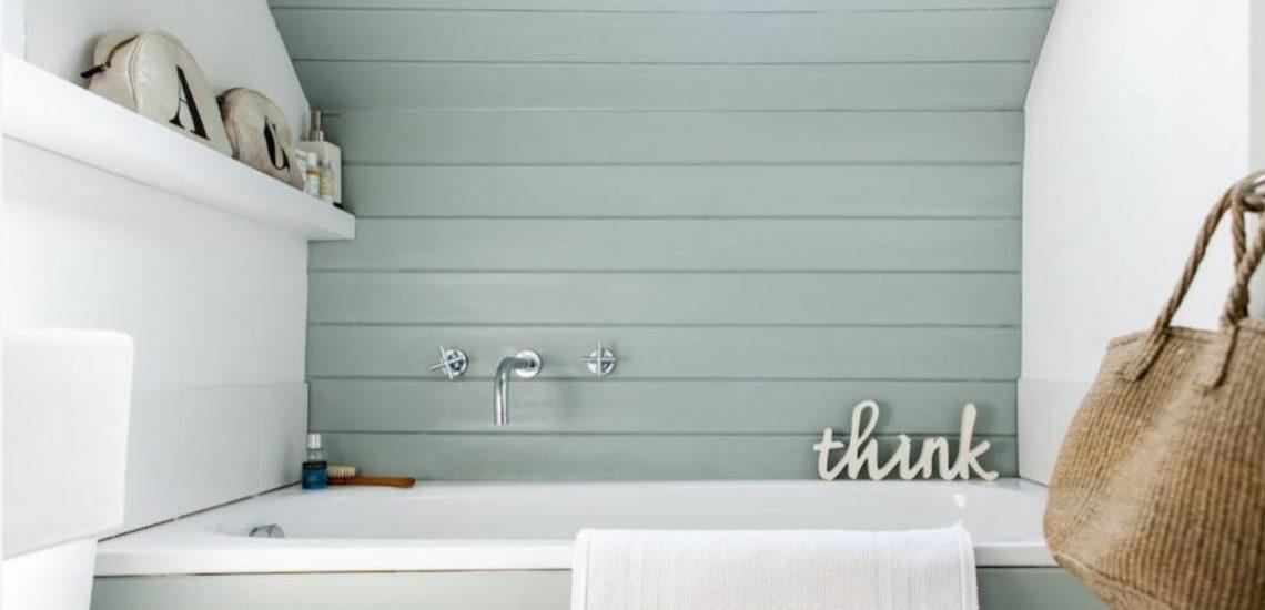 из маленькой ванной в большую
