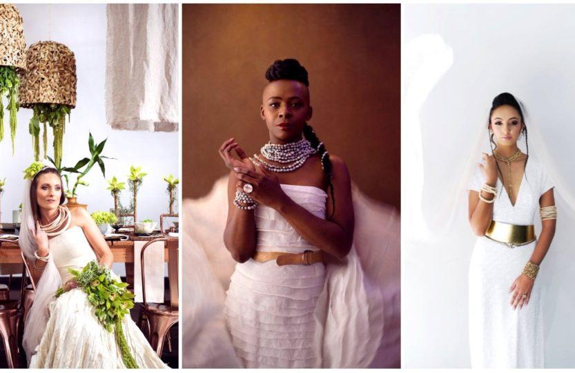 декор под платье невесты