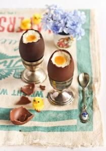 сладкие пасхальные яйца