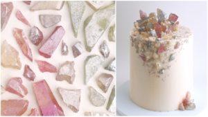 даже природные минералы из интерьеров перекочевали на выпечку!