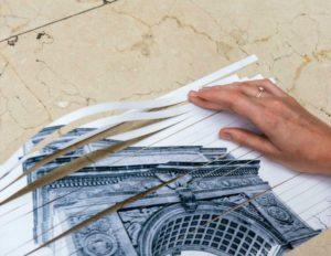 плетеное панно своими руками