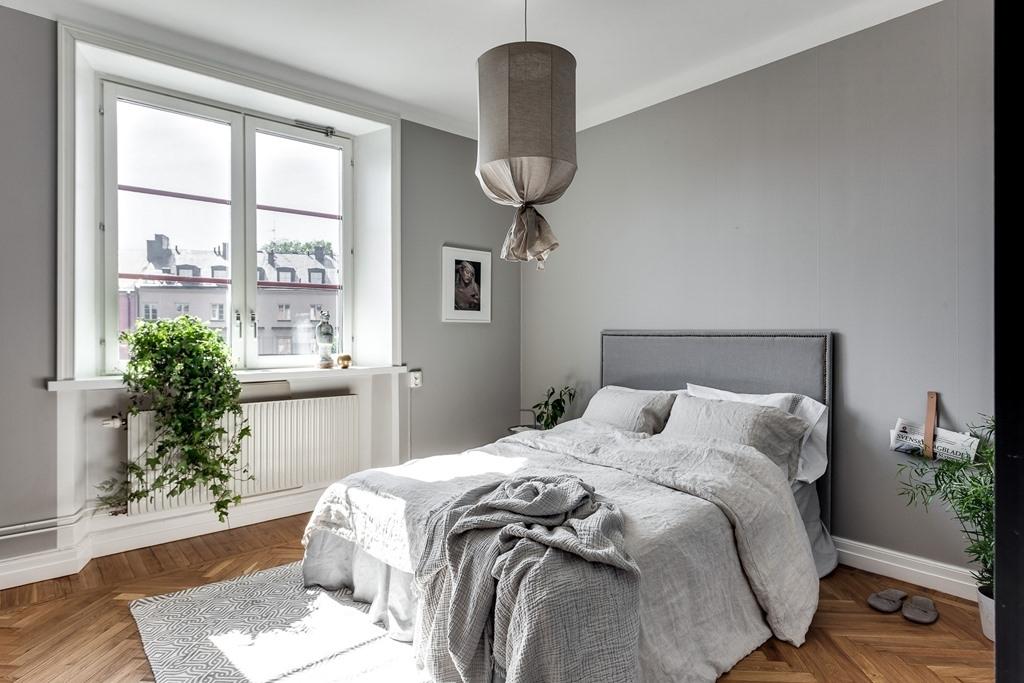 спальня уютный минимализм