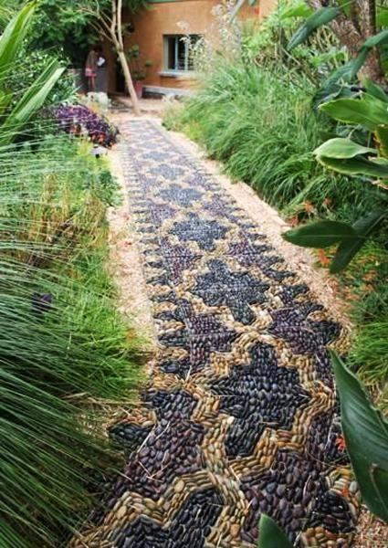 декор садового участка