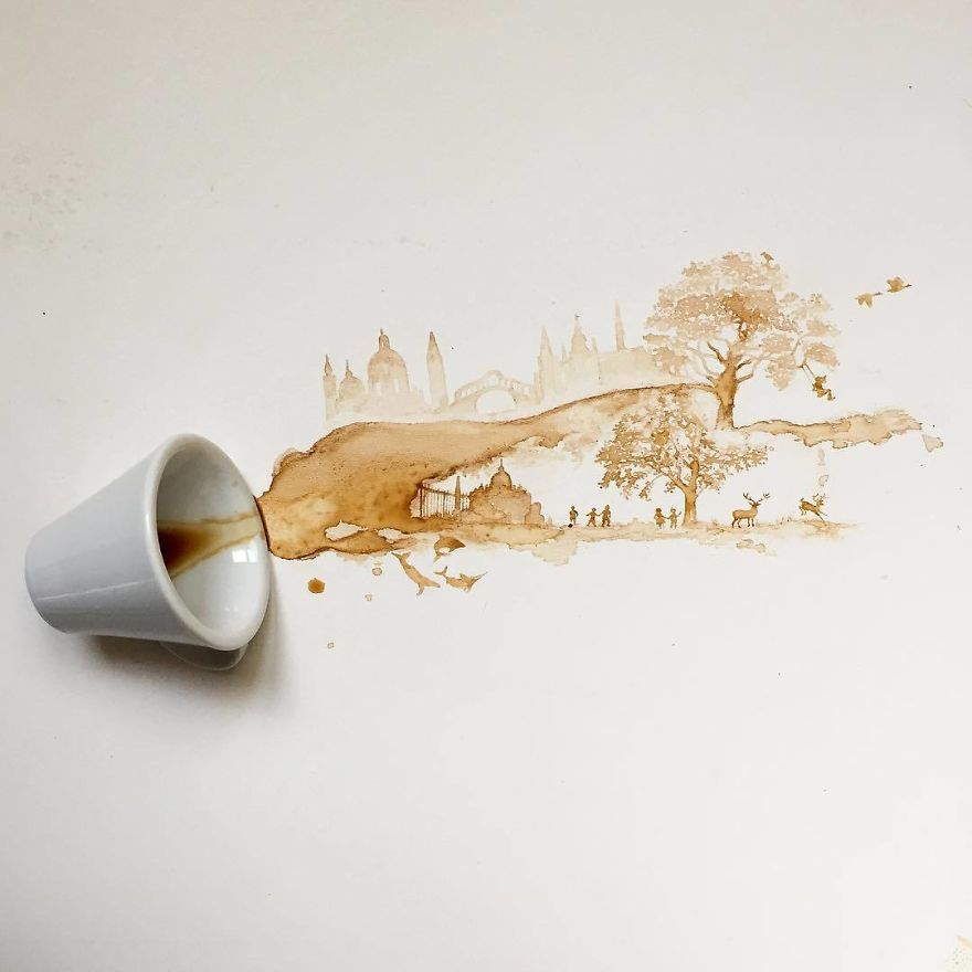 кофейные рисунки