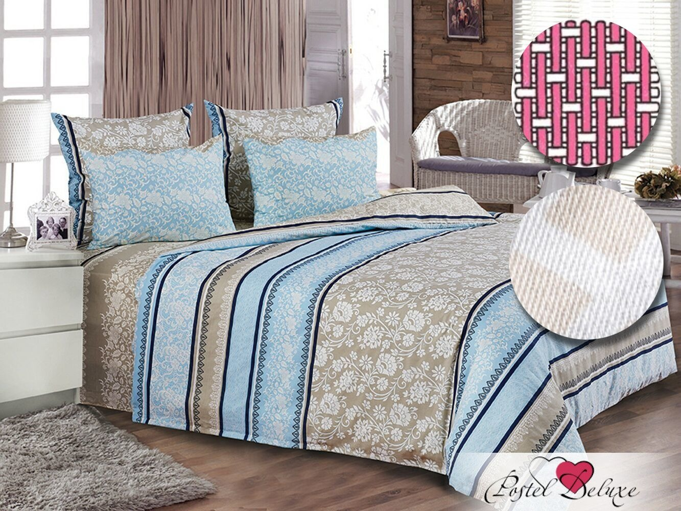 постельное белье сатинового плетения
