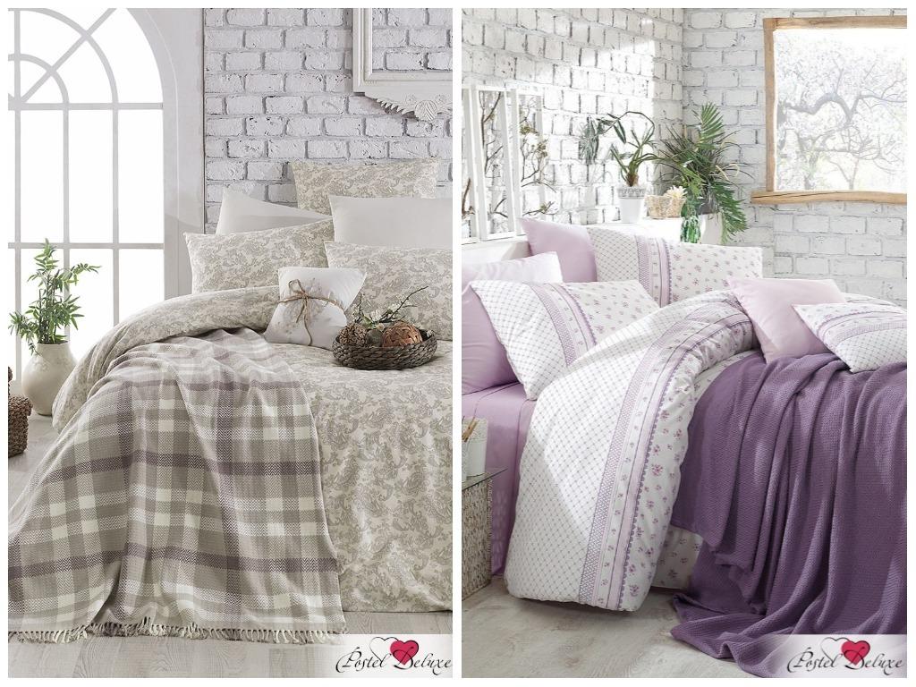 комплект постельного белья с покрывалом