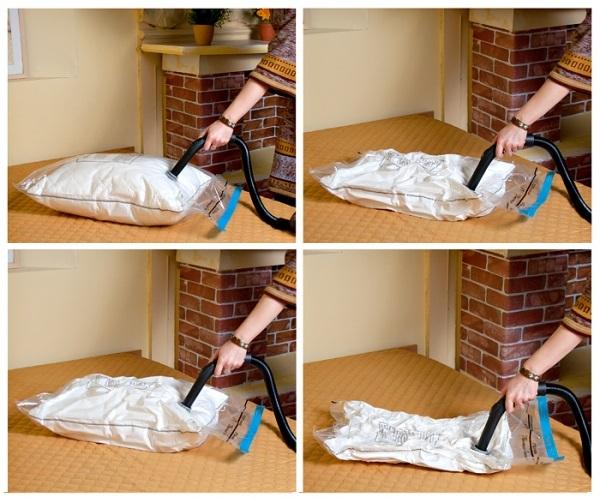 где хранить одеяла и подушки