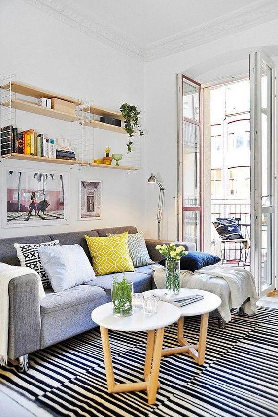 как обустроить маленькую квартиру