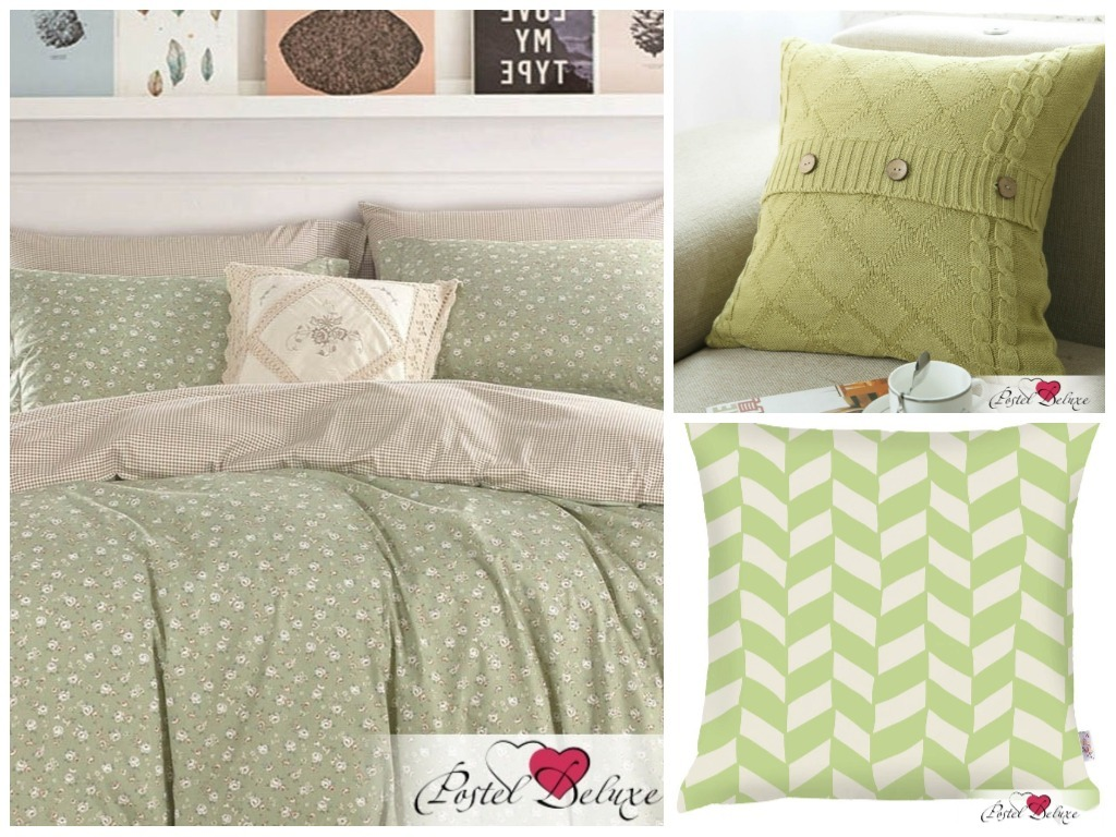 модные зеленые оттенки в интерьере