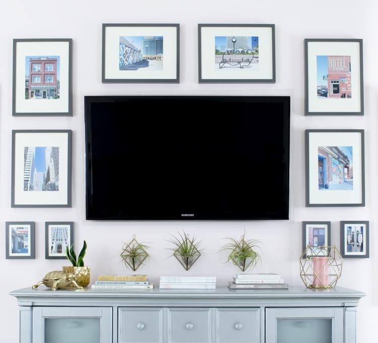 как спрятать телевизор